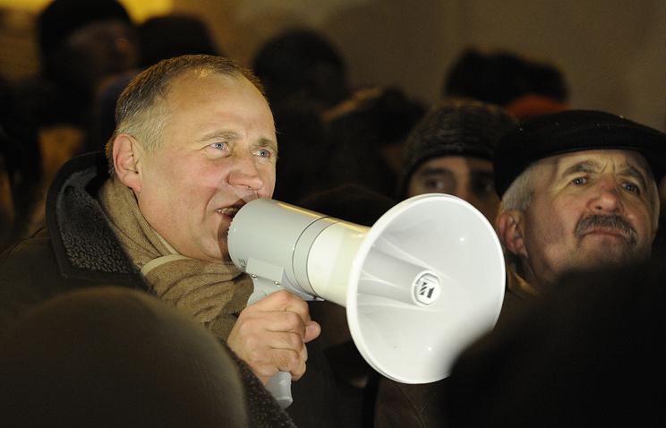 Оппозиционный политик Николай Статкевич схвачен вМинске