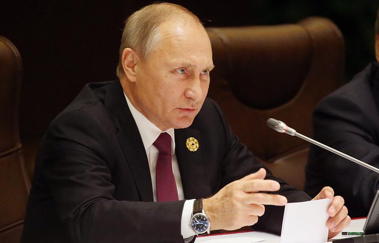 Боевая работа вСирии заканчивается, пора создавать условия для политического процесса— Путин