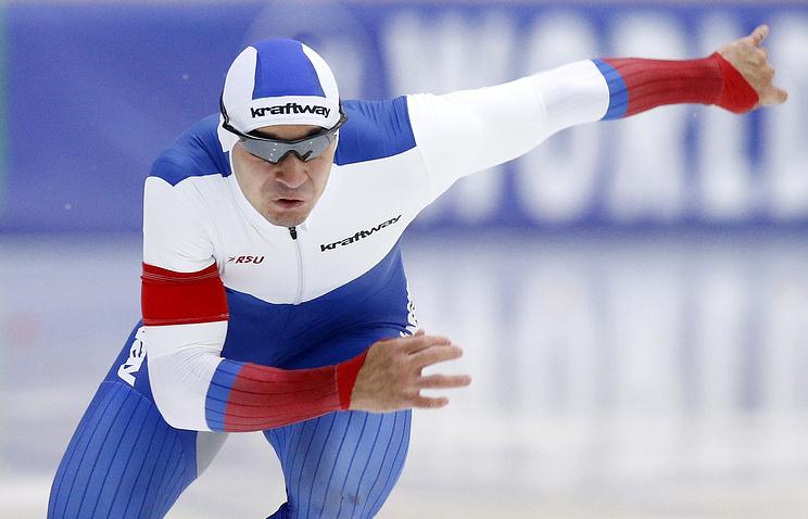 Русские конькобежки установили мировой рекорд наэтапе Кубка мира