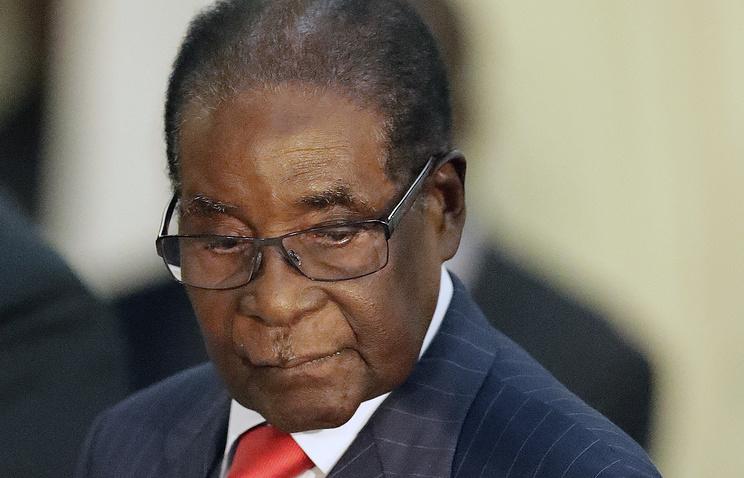 Мугабе впрямом эфире отказался уйти споста президента 2