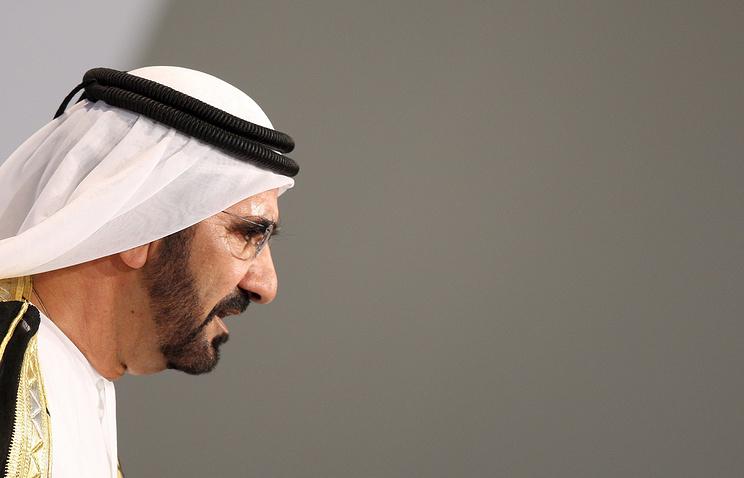 Премьер-министр ОАЭ, правитель эмирата Дубай шейх Мухаммед бен Рашид Аль Мактум