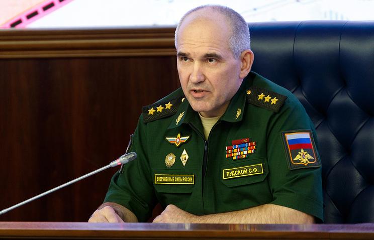 Начальник Главного оперативного управления Генштаба генерал-полковник Сергей Рудской