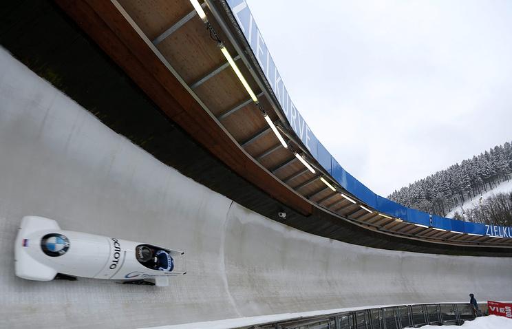 Скелетонист Трегубов завоевал серебро начемпионате Европы вАвстрии