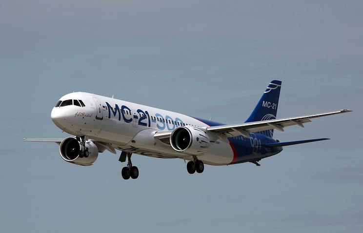 1-ый самолёт МС-21 будет летать вИркутск