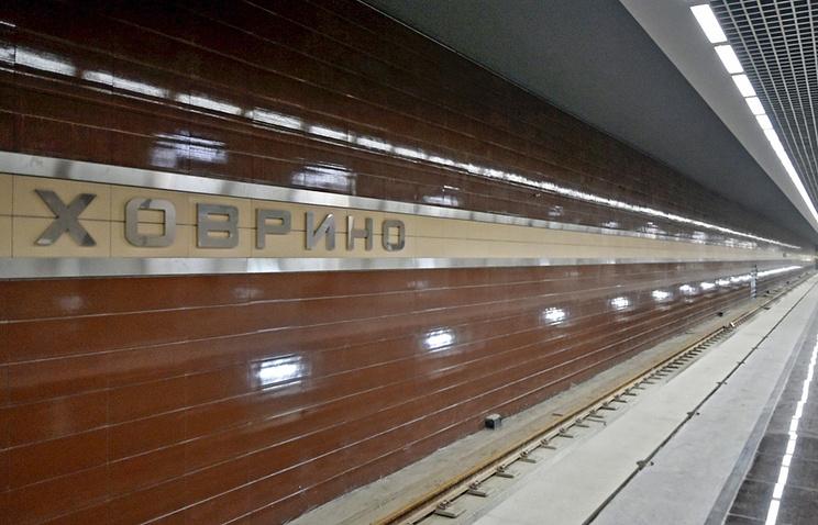 Открылась для пассажиров новая станция московского метро «Ховрино»