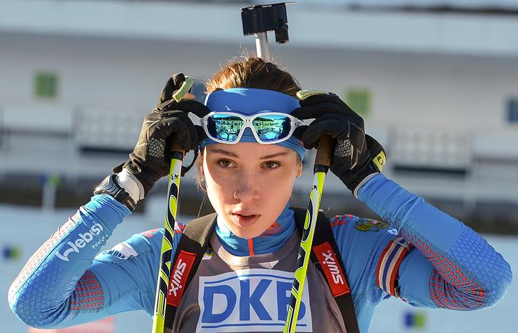 Россиянка Ульяна Кайшева одолела вспринте наэтапе Кубка IBU вСловакии