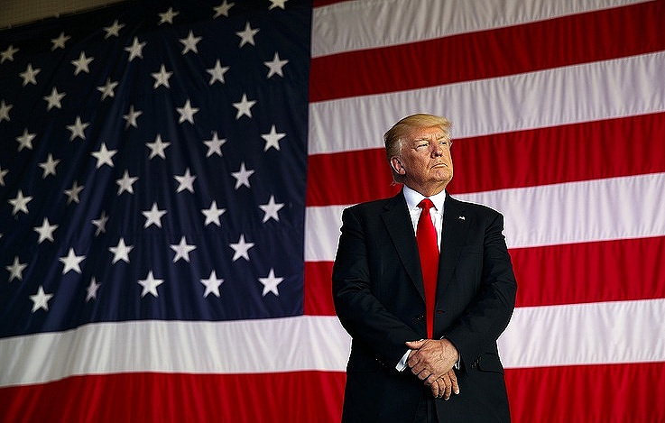 Трамп хочет  повторно переизбираться напост президента США