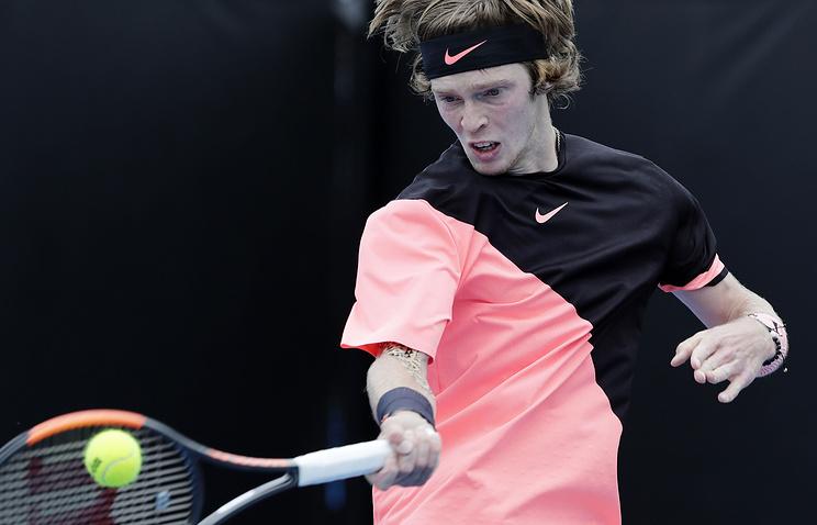 Рублёв вышел втретий круг Australian Open