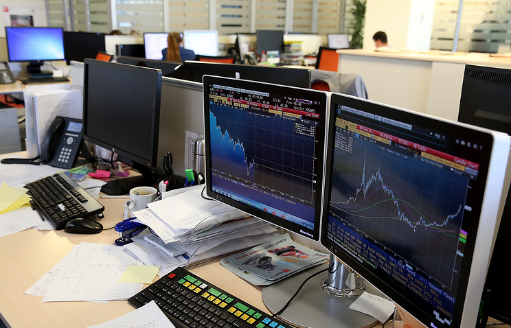 Индекс Московской биржи впервый раз превысил 2300 пунктов