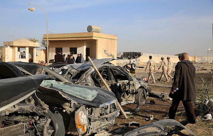 В Бенгази более 30 человек погибли в результате теракта