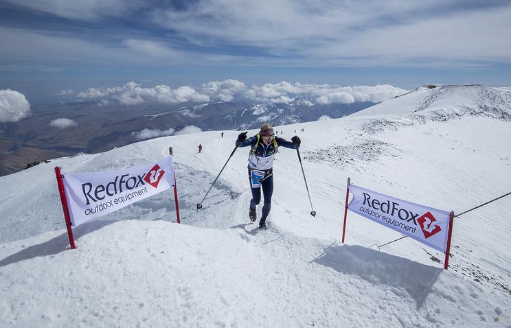 Забег на Эльбрус SkyMarathon® - Mt Elbrus, 2350-5642 м. Карл Эглофф (Эквадор), автор мирового рекорда в рамках Red Fox Elbrus Race 2017