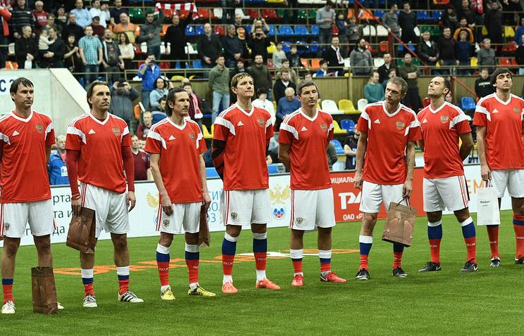 Аленичев иТитов возглавят сборную РФ на«Кубке Легенд»
