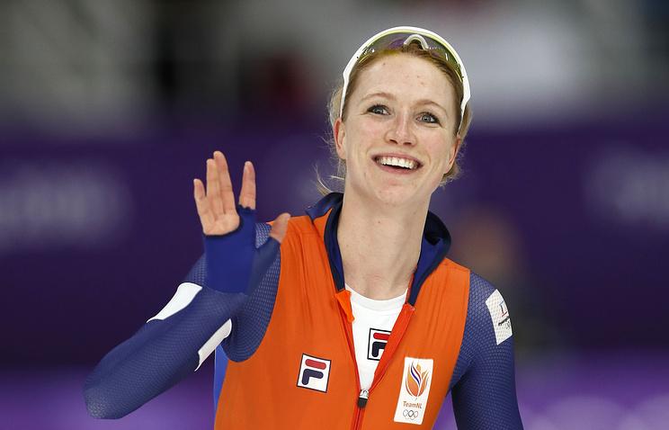 Голландки заняли весь пьедестал насоревнованиях поконькобежному спорту