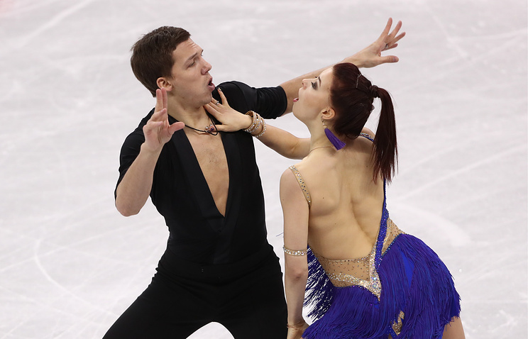 Евгения Медведева выиграла короткую программу наОлимпиаде вПхёнчхане