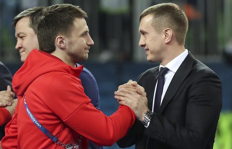 И.о. президента Российского футбольного союза Александр Алаев