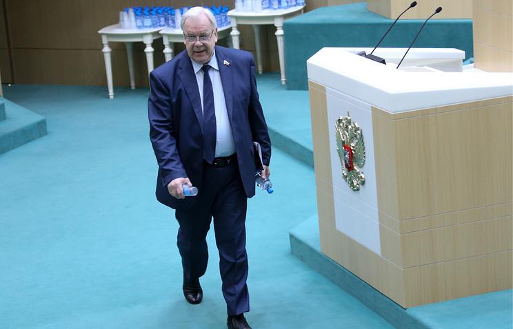 Бывший зампред комитета Совета Федерации по регламенту и организации парламентской деятельности Сергей Попов