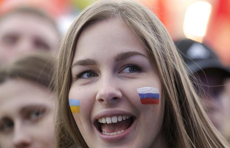 Жители России продолжают рассчитывать навосстановление отношений с Украинским государством