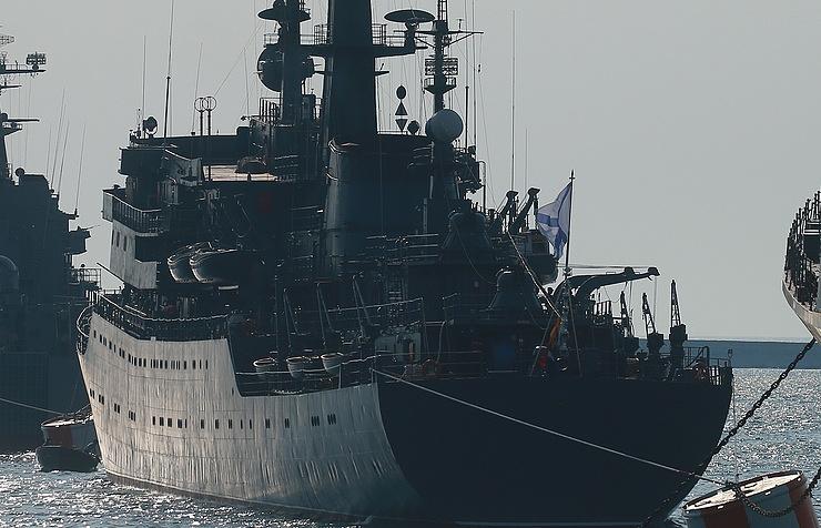 """Учебный корабль Балтийского флота """"Перекоп"""""""