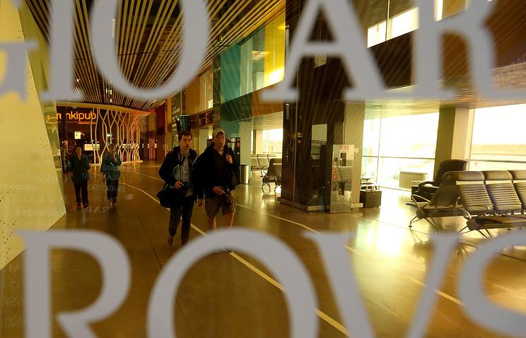 В зале ожидания аэропорта Кольцово