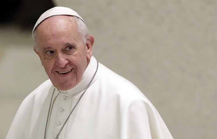 Папа Римский отмечает пятилетие понтификата
