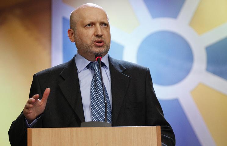 Секретарь Совета нацбезопасности и обороны (СНБО) Александр Турчинов