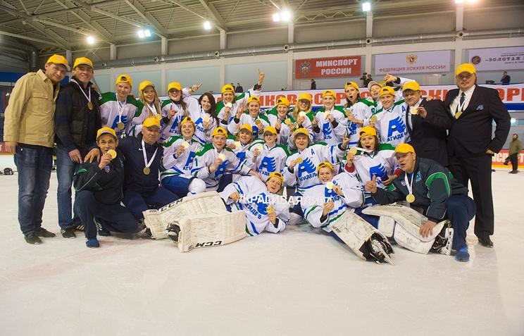 Чемпионом Женской хоккейной лиги впервый раз стала уфимская «Агидель»