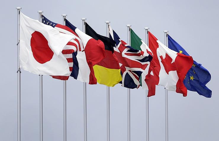 Страны «Большой семерки» угрожают РФ новыми санкциями
