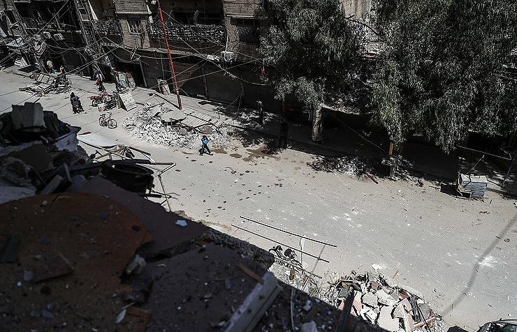 Появилось видео входа военной милиции РФвКаламун— Бурная реакция сирийцев