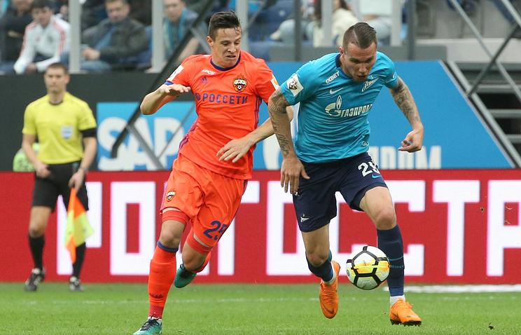Манчини считает, что «Зенит» играл лучше, чем ЦСКА