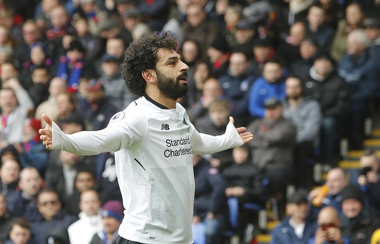 Салах признан футболистом года впремьер-лиге поверсии английских корреспондентов