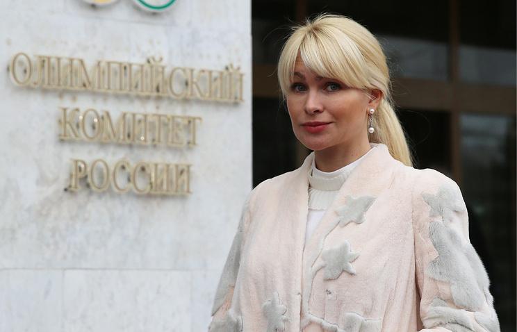 Гарт переизбрана главой Федерации санного спорта РФ