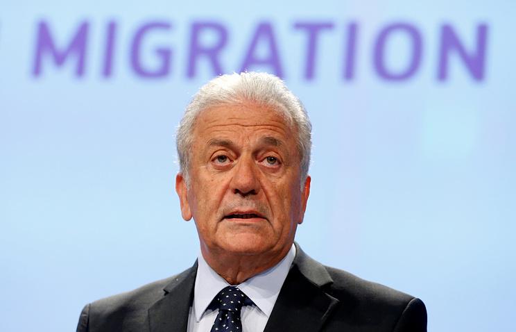 Еврокомиссар по вопросам миграции, внутренних дел и гражданства Димитрис Аврамопулос