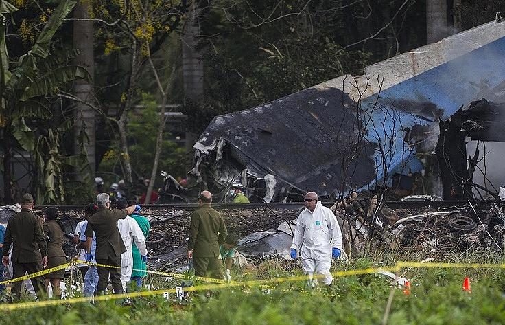 НаКубе отыскали 2-ой черный ящик разбившегося Boeing
