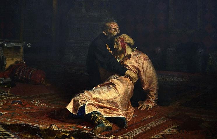 Вандал достаточно серьезно сломал картину Репина вТретьяковской галерее