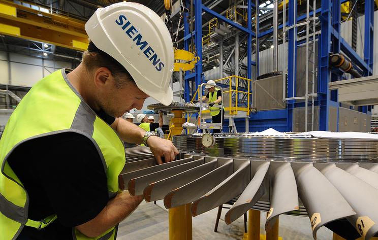 Bloomberg: Siemens рассматривает продажу подразделения по производству газовых турбин