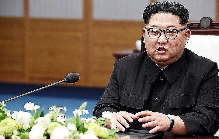 Лидер КНДР Ким Чен Ын