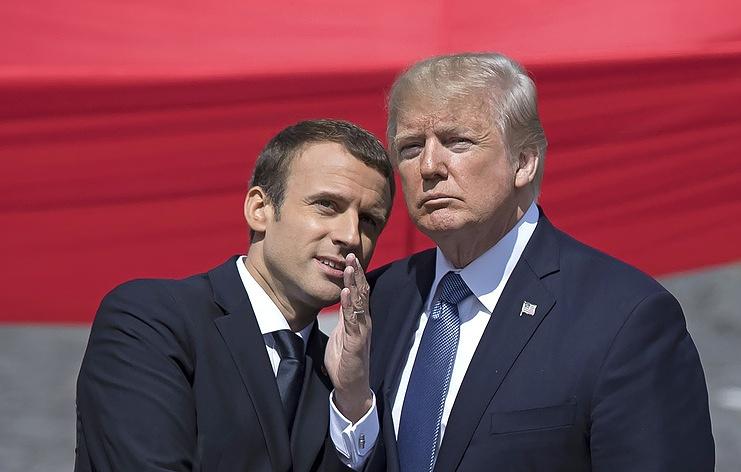 WP: Трамп предлагал Макрону торговую сделку завыход Франции изЕС