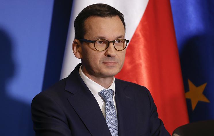 Польский премьер назвал «Северный поток-2» не финансовым, аполитическим проектом