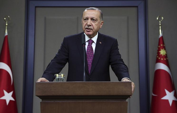 Эрдоган: Турция примет меры в ответ на повышение США пошлин на металл и алюминий