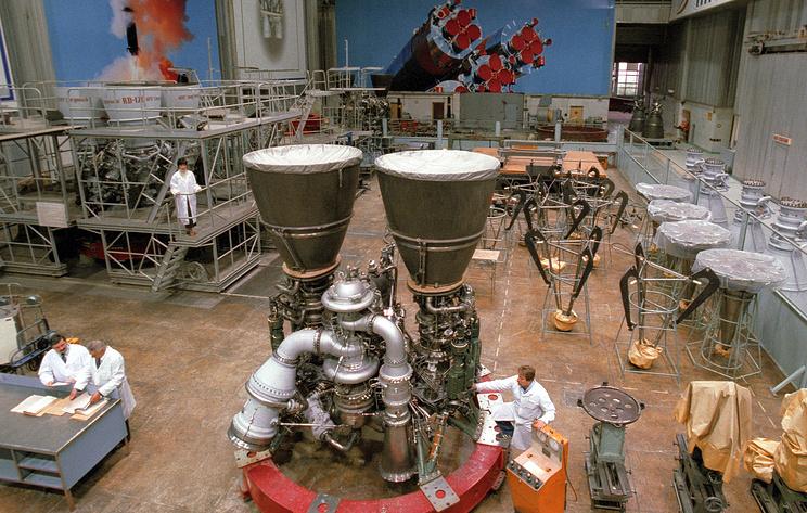 Сборочный цех ракетных двигателей серии РД-180