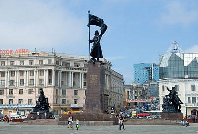 Центр Владивостока. Фото mochaloff.ru