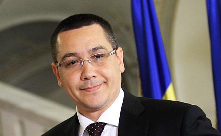 Премьер Виктор Понта. Фото EPA/ИТАР-ТАСС