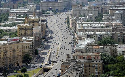 Кутузовский проспект, Москва. Фото ИТАР-ТАСС