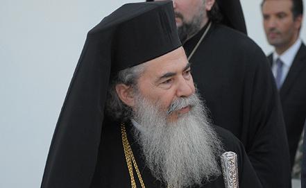 Предстоятель Иерусалимской православной церкви Феофил. Фото ИТАР-ТАСС