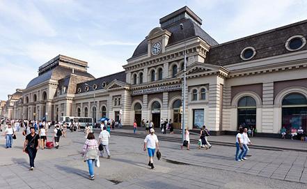 Павелецкий вокзал. Фото ИТАР-ТАСС