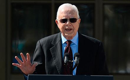 Джимми Картер, фото из архива EPA/ИТАР-ТАСС