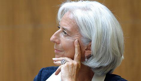 Глава МВФ Кристин Лагард, фото EPA/ИТАР-ТАСС