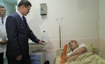 Анатолий Якунин и Антон Кудряшов. Фото petrovka38.ru