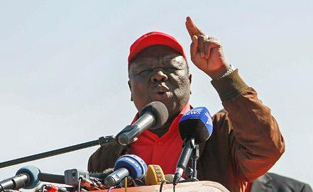 Премьер-министр Зимбабве Морган Тсвангираи Фото EPA/ИТАР-ТАСС