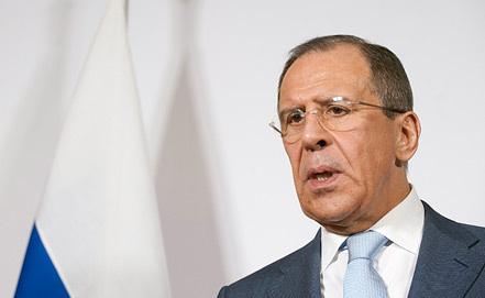 Сергей Лавров. Фото ИТАР-ТАСС
